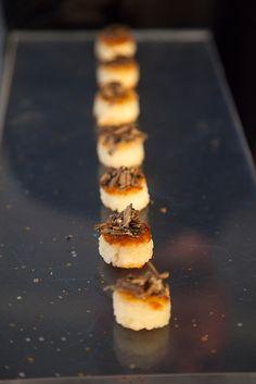 Bite-size treats by Callahan Catering @Peter Thomas Thomas Callahan