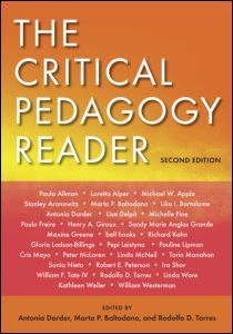 Since its publication, The Critical Pedagogy Reader has firmly established itself as the leading collection of classic and contemporary essays by the major thinkers in the field of critical pedagogy.