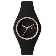 Montre Ice-Watch Glam / Black Rose Gold Unisex