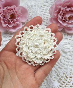 Watch The Video Splendid Crochet a Puff Flower Ideas. Wonderful Crochet a Puff Flower Ideas. Crochet Bouquet, Crochet Puff Flower, Crochet Flower Patterns, Crochet Stitches Patterns, Crochet Motif, Crochet Designs, Crochet Flowers, Crochet Hook Set, Thread Crochet