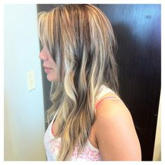bangs with lowlights | Eryn's highlighted and lowlights! | Hair
