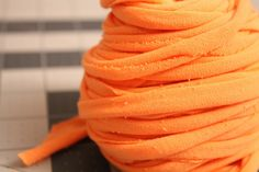 How to make your own t-shirt yarn