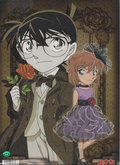 Edogawa Conan and Haibara Ai (Detective Conan)