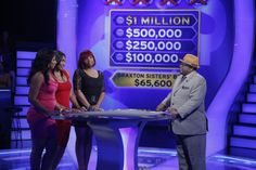 "Thursday, 12/12, the Braxtons are back, and they face the $100,000 question! If sisters Trina Braxton, Towanda Braxton and Traci Braxton of ""Braxton Family Values"" on WE tv can answer it correctly, they'll be only three questions away from winning $1 million for their charity, Saving Our Daughters! Watch them on ""Millionaire"" with host Cedric ""The Entertainer""!"