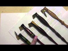 Pointed Pen Basics HD - YouTube