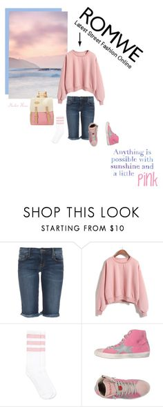 """Loose Pink Sweatshirt from ROMWE"" by merlothues ❤ liked on Polyvore featuring Genetic Denim, Seed Design, Lilly Pulitzer, Ishikawa and romwe"