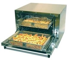 Greaseless Fryer Express - TWO Basket - Greaseless Fryer - Commercial Air Fryer Pizza Logs, Commercial Cooking Equipment, Bistro Kitchen, Kitchen Sink, Cooking Supplies, Restaurant Equipment, Food Service, Air Fryer Recipes, Bbq Grill
