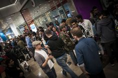 Call of Duty: Advanced Warfare midnight launch at Game, Westfield Stratford