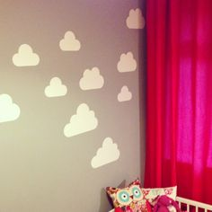 White Cloud Stickers
