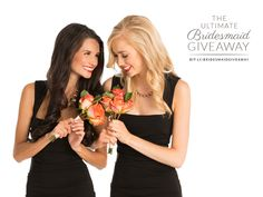 We are SO excited to partner up with some amazing brands to offer you the chance to win the Ultimate Bridesmaid Giveaway for you & your fellow bridesmaids!
