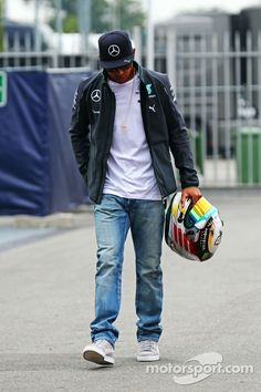 Enter Lewis Hamilton for Fridays practices at Monza