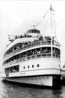 "Boblo Boats - Boblo Island, MI - so many great Boblo Island memories!  Wonder if this place is still ""open"""
