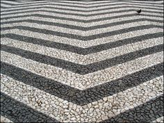 CHEVRON pavement. portugal