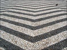 calçada in Guimarães, Portugal