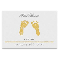 First Impressions - Birth Announcements