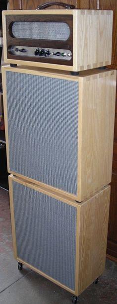 1000 images about amp cabinets on pinterest speakers speaker box design and guitar. Black Bedroom Furniture Sets. Home Design Ideas