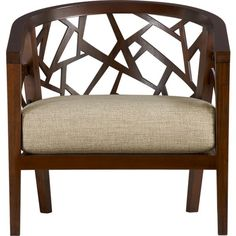 Ankara Chair with Fabric Cushion contemporary chairs crate and barrel Living Room Chairs, Decor, Chair, Furniture, Contemporary Chairs, Cool Chairs, Accent Chairs, Leather Cushion, Barrel Chair