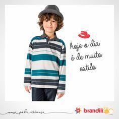 A moda para os meninos traz peças inspiradas no universo do skate #lookbrandili