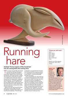 #Sculpture by #Andrew Thomas - #Woodcarving Magazine