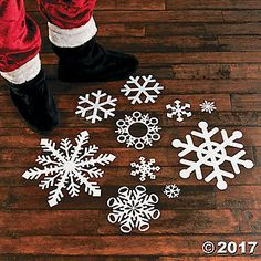 A must-have party accessory for this year's holiday party, winter-themed wedding or theatre performances! These beautiful decals are great Christmas ...