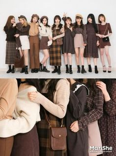 Korean fashion has been trending for many years, and it's for good reasons. With Korean's approach to outfits, accessories, and shoes, it is no doubt how many people search for Korean fashion trends for great looks. Korean Fashion Trends, Korea Fashion, Asian Fashion, Look Fashion, Teen Fashion, Autumn Fashion, Fashion Outfits, Fashion Design, Fashion Ideas