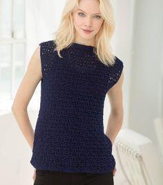 How To Make A Perfect Crochet Sleeveless Tunic | FREE Crochet Pattern | DIY Fashion