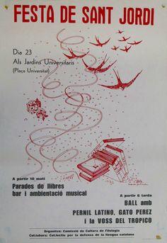 #Cartells #SantJordi2016 Balearic Islands, Bullet Journal, Movie Posters, Lineman, Spain, Film Poster, Billboard, Film Posters