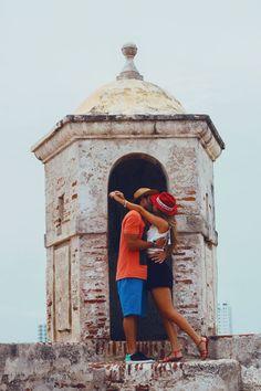 outside the walled city is Castillo de San Felipe