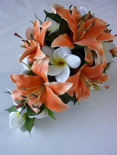 Tiger lily bouquet