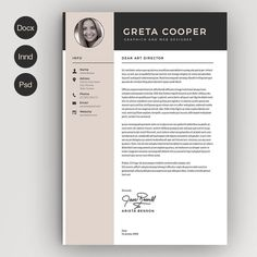 Minimalist clean resume templates, best minimal resume design 100% print ready cv resume can assist you achieve the dream job. High-quality minimal resume templates that may help you land your dream job or simply create a better looking business. Professionally designed, we take a unique approach to boring business documents, creating modern, sophisticated and easy to use […]#job #cv #resume #template #moderncv #professionalcv #download Modern Resume Template, Cv Template, Resume Templates, Cover Letter For Resume, Cover Letter Template, Cover Letters, Certificate Design Template, Cv Design, Graphic Design