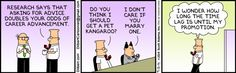 Dilbert comic strip for 09/13/2014 from the official Dilbert comic strips archive.