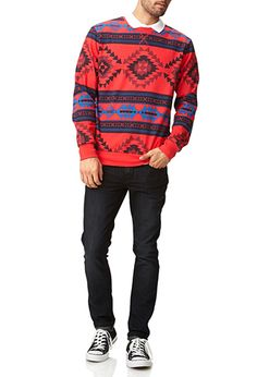 Southwestern Print Sweatshirt   FOREVER 21 - 2054834412