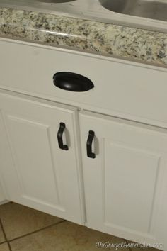 Oil Rubbed Bronze Cabinet Pulls - Oil Rubbed Bronze Cabinet Pulls , 3 Piece Bathroom Rug Set Go Green Homes From 3 Piece Kitchen Cabinets Repair, Laminate Cabinets, Rustic Cabinets, White Cabinets, Furniture Handles, Furniture Decor, Mobile Home Renovations, Yard Sale Finds, Bronze Bathroom
