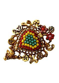 Vintage CHRISTIAN LACROIX Baroque Heart Cherub by VintagEnMode Motif Baroque, Baroque Pattern, Christian Lacroix, Cl Logo, Sacred Heart, Costume Jewelry, Jewelry Design, Hearts, Jewellery
