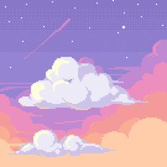 Did this quick speed draw today to practice clouds