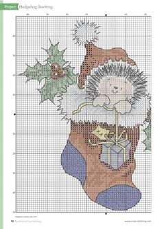 (2) Gallery.ru / Фото #10 - The World of Cross Stitching -Special Christmas 2015 - tymannost