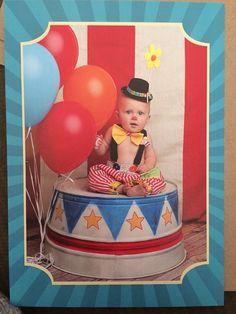 Boys Clown Costume Boys 1st BirthdayBaby Boys by MYSWEETCHICKAPEA