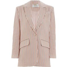 ZIMMERMANN Painted Heart Blazer (56.720 RUB) ❤ liked on Polyvore featuring  outerwear, jackets