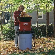 FlowTron Electric Leaf Eater And Mulcher