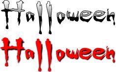 Halloween Spooky Text