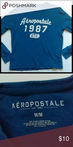 **Aeropostale men's long sleeve shirt** In perfect condition. Great for winter. From a smoke and pet free home. I ship fast! Aeropostale Shirts Tees - Long Sleeve