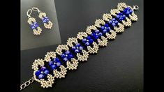 Beaded Jewelry Patterns, Beading Patterns, Making Bracelets With Beads, Jewelry Making, Beaded Bracelets Tutorial, Bow Bracelet, Bead Jewellery, Beading Tutorials, How To Make Beads