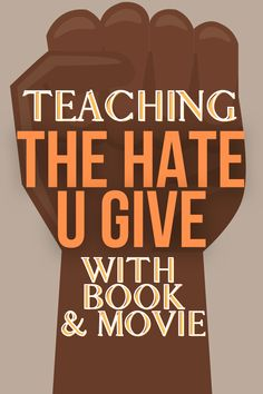 Teaching racial injustice and diversity activities for kids with The Hate U Give lesson plans (Hate U Give movie and book). Racism resources for kids. #diversity #childrensbooks #lessons #homeschooling #highschool #middleschool Teacher Lesson Plans, Free Lesson Plans, Preschool Lesson Plans, Lesson Plan Templates, Diversity Activities, Book Activities, Teaching Writing, Teaching Tips, Racial Equality