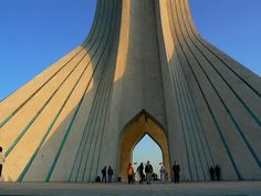 Azadi Tower in Teheran. Read more: http://www.imperatortravel.com/2012/10/iran-parallel-universes-in-the-old-persia-episode-4-teheran.html