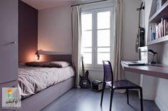 غرف نوم مودرن صغيرة المساحة للعرسان