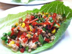 how to make scrumptious vegan lettuce wraps! #MyVeganJournal