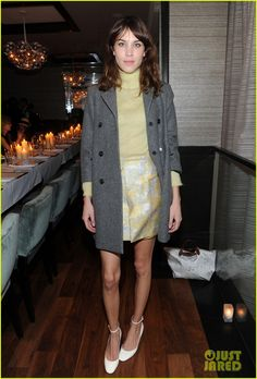 Alexa Chung : Christian Siriano Fashion Show & After-Party | ..