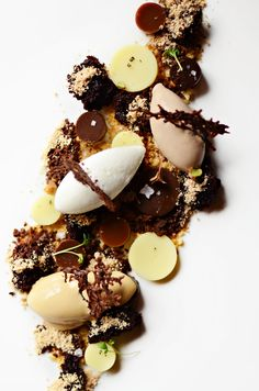 Soft Chocolate, Salted Caramel Ice Cream, Bread & Butter