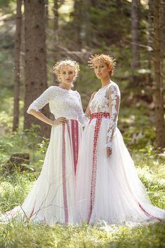 Ako v raji 2014 / AtelierDeCouture European Wedding, W Dresses, White Wedding Dresses, Floral Crown, Wedding Styles, Rustic Wedding, Wedding Inspiration, Wedding Ideas, Modeling