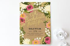 Floral Canopy by Griffinbell Paper Co. at minted.com